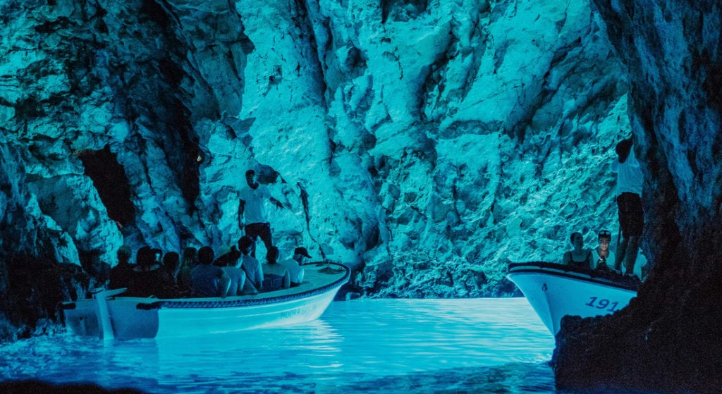 blue cave tour from split and trogir