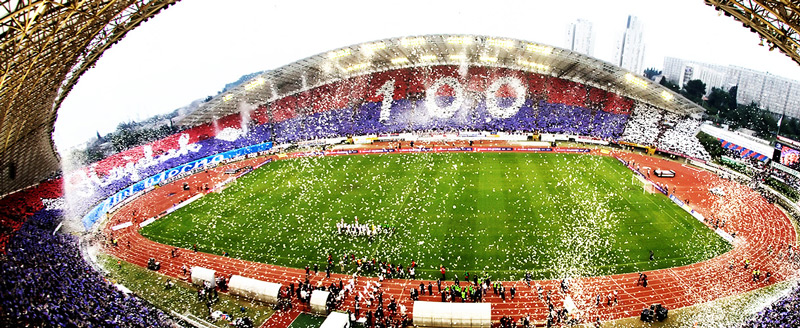 Hajduk Split football match