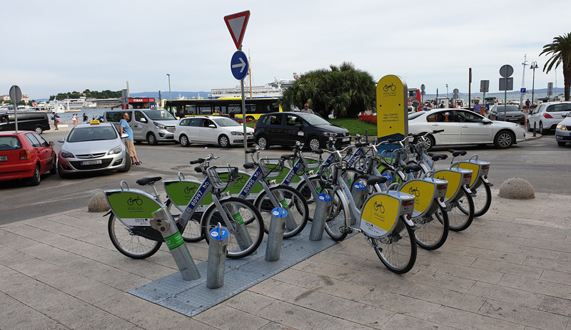 Bike rental in Split, Croatia