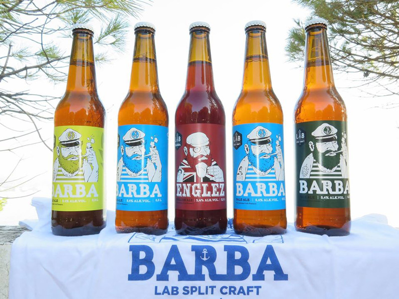 Barba, craft beer made in Split